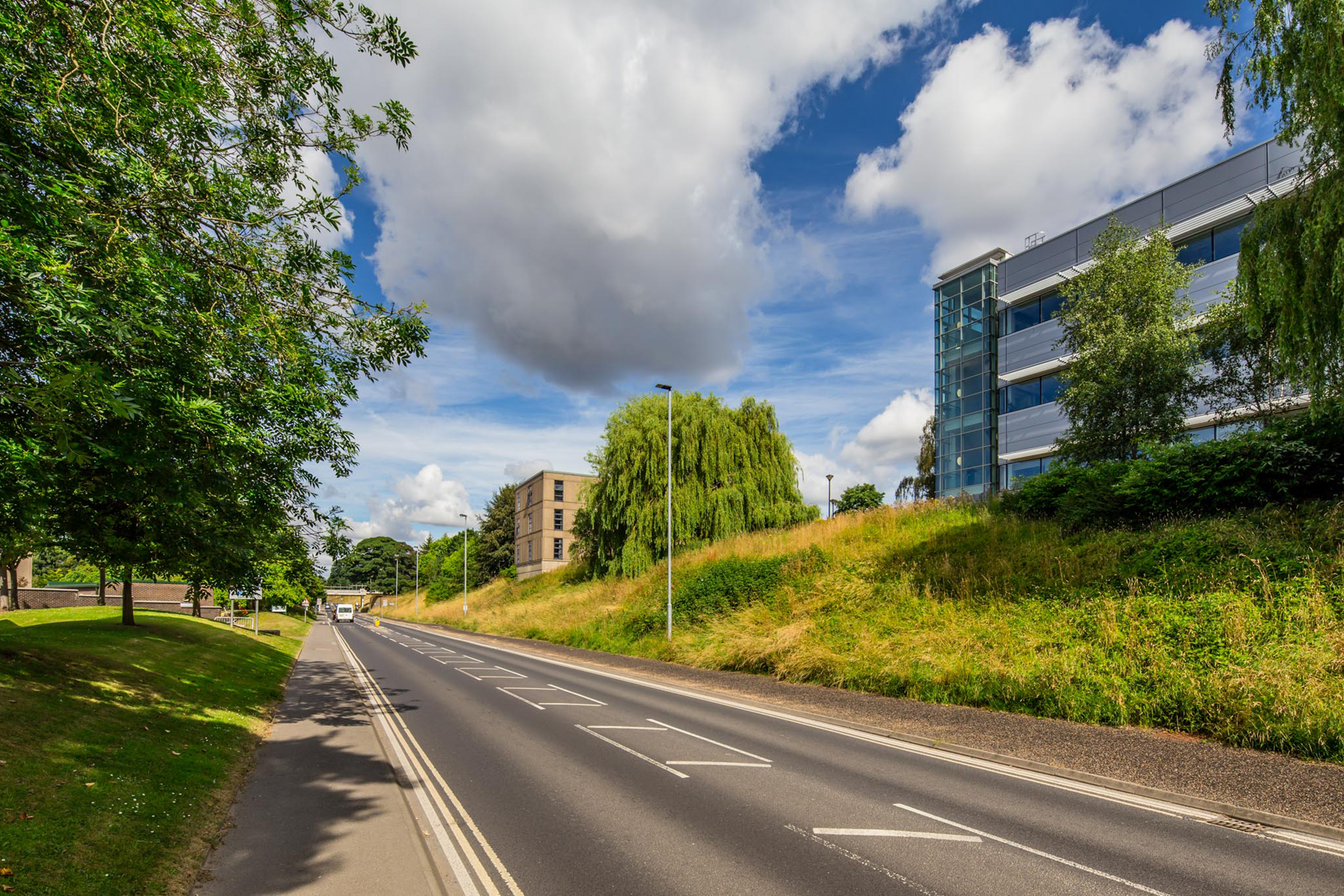 University Road and Alcuin College