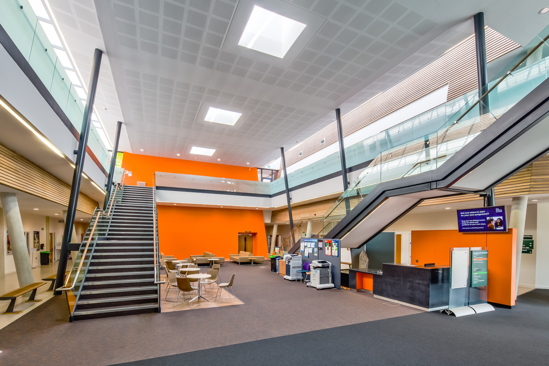 Law and Management School Foyer